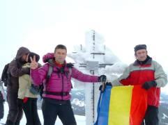 Pe vârful Negoiul Unguresc (2080m)