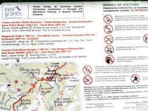 Harta spre Cascada Cigheni