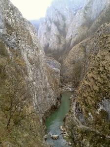 Valea Hășdate  în Cheile Turzii