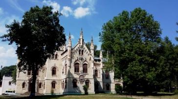 Castelul de la Miclăuşeni, faţada de sud