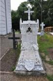 Mormântul lui Gheorghe Sturdza (1841-1909), ctitorul castelului, vornic al Moldovei