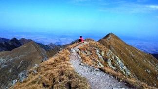 Între Vârful Viştea şi Vârful Moldoveanu