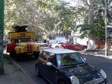 Contrast evident, pe străzile Chișinăului