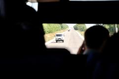 """într-un autocar, prin Găgăuzia, regiunea autonomă din cadrul Republicii Moldova, a """"turcilor"""", vorbitori de limbă rusă"""