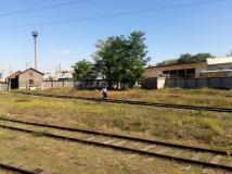 Conductorul trenului Chișinău-Tighina, părăsind trenul, înainte ca acesta să intre în teritoriul separatist