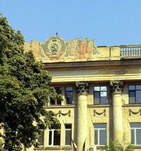 Simboluri comuniste, uitate pe clădirile oraşului