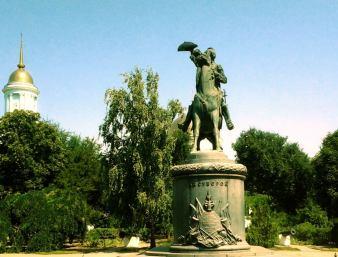 Statuia generalului Alexandr Suvorov