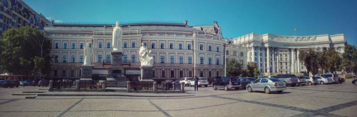 Piața Sofia cu Monumentul Prințesei Olga