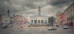 Primăria orașului Cernăuți, clădire construită între anii 1843-1847