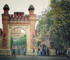 Poarta de intrare a Universității Naționale din Cernăuți