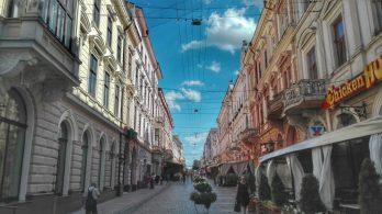 Fosta stradă Iancu Flondor, acum Olga Kobileanska împreună cu multitudinea de stiluri arhitecturale alcătuiesc unul din punctele principale de atracție, al orașului Cernăuți.