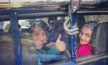 Lăsăm în urmă Valea Socalăului și urcăm cu o mașină de ocazie, până în frontiera româno-ucraineană